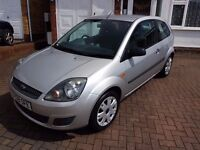 Ford Fiesta 1.2 Style Climate, low miles, long M.O.T.