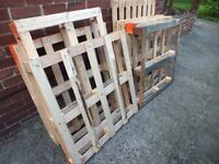 10 Wood Pallets - Firewood or Haulage Delivered within 5 Miles of NE40 - £20