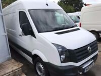VOLKSWAGEN CRAFTER LWB 2013REG SPARES OR REPAIRS FOR SALE, no vat