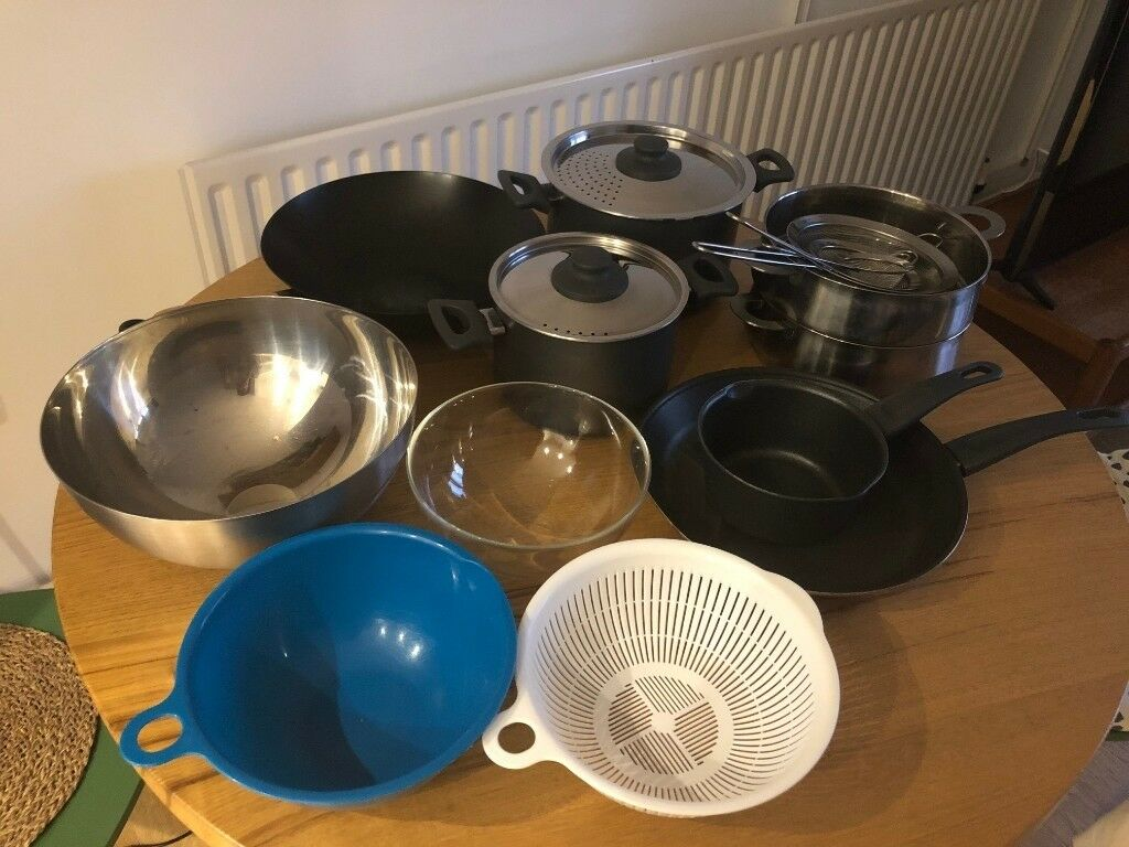 5839a4045 Ikea SKÄNKA 6-piece cookware set + misc. kitchenware | in Islington ...