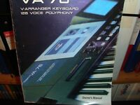 ROLAND VAT SERIES 2 76 NOTE. 1 OWNER EXTRAS POSSIBLE DELIVERY