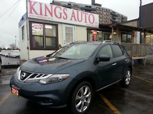 2012 Nissan Murano Platinum, Navi, Back-up cam, Pano-roof, Leath