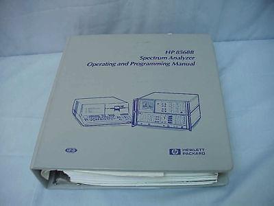 Hp 8568b Signal Analyzer Operating Programming Manual