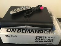 Sky+ HD box plus remote