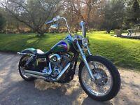 Harley chopper bobber FXDC Superglide Custom P/X poss