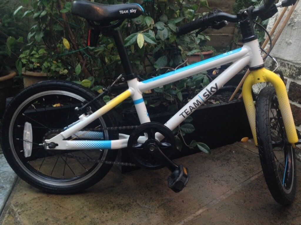 Frog 48 Children's bike - excellent condition, blue and white