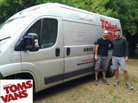 Tom's Vans Removals - Your Friendly Man & Van Removal Service - 100% Positive Feedback on Google
