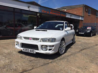 SUBARU IMPREZA WRX JAP REDTOP ENGINE 294 BHP HURRICANE CAR & MOTORCYCLE SALES