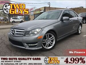 2013 Mercedes-Benz C-Class 300 4MATIC LEATHER ROOF ALLOYS GREAT