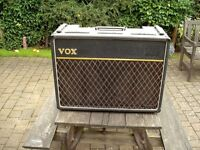 Vintage 1960's Vox AC15 Twin. Approx 1965