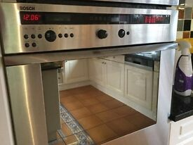 Bosch single fitted oven
