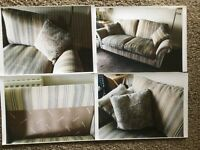 Parker Knoll sofa, bought June2016 with 5 year staining and repair guarantee. 2.5 seater 200cm long