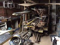 kwick stage scaffolding, steel ladder, self builder or builder, plus more