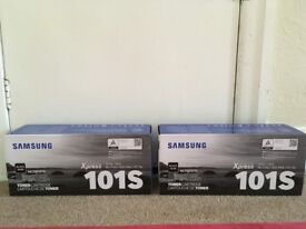 2 SAMSUNG Xpress 101S black toner printer cartridges
