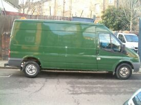 FORD TRANSIT 350 LWB SEMI Hi ROOF ONE CMOPANY