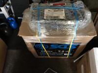 24 litre air compressor. New and sealed.