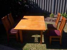 Dinning Table 4 chairs Marayong Blacktown Area Preview