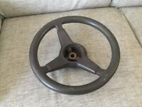 Classic mini steering wheel