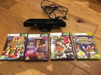 Xbox360 connect + 4 Games