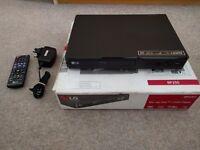 LG Blu-ray / dvd player BP250 Boxed like new