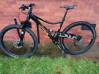 Orange segment full suspension mountain bike 2016 + recent Upgrades