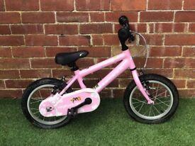 "Ridgeback Honey 14"" Kids Pink Bike"