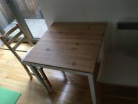 IKEA dining table + 2 chairs
