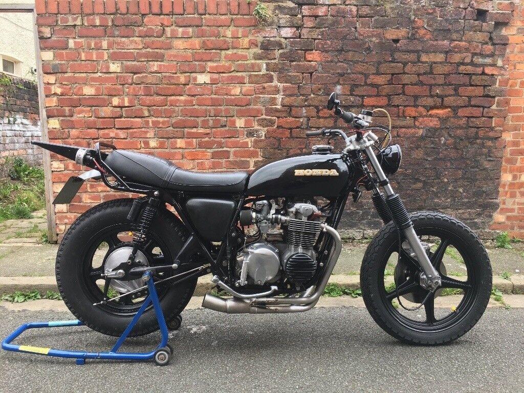 1979 Honda CB550 Custom Brat Tracker Café
