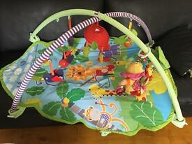 Baby Lot: playmat / Moses basket / swinging battery powered chair