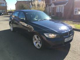 2007 (07) BMW 320d 2.0 SE AUTO DIESEL LOW MILEAGE 12 months warranty and breakdown service