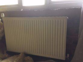 6 Central heating radiators