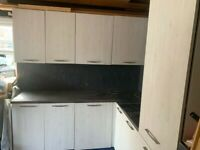 Free utility room/garage/kitchen furniture - you don't want to miss it!