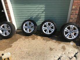 F30 17 inch alloy wheels ,