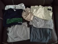 T-shirts: Assorted sleeveless t-shirts (7) all XL.