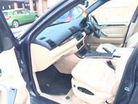 BMW X5 4x4 4x brand new Bridgestone tyres new brakes MOT LEATHERS GREAT CONDITION Xenons face lift