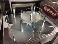 NEW DONER KEBAB MAKING STAND FAST FOOD CATERING COMMERCIAL SHOP TAKE AWAY KITCHEN