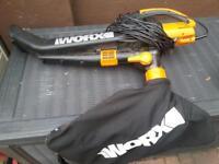 worx garden vac/blower
