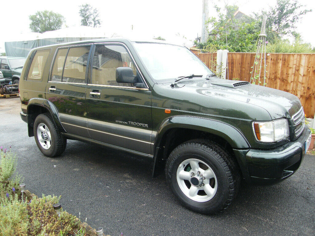 Isuzu Trooper 2001 3 0 with a 3 1 rebuilt engine conversion | in Shropshire  | Gumtree