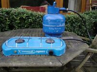 Gas bottle and Stove