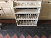 Antique Plate Rack