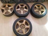 Alloys for sale hub size 4x100