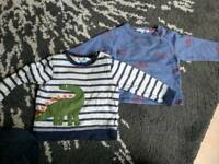 2 John Lewis boys jumpers for 12-18 months