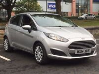 2014 FORD FIESTA 1.5 TDCI * 5 DR * 1 OWNER * FSH * SAT NAV * £0 TAX * PART EX * FINANCE * DELIVERY