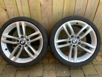 Genuine BMW M Sport alloys