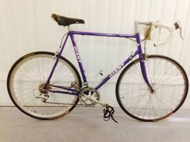 Steel Giant Road bike 14 speed Index gears 60 cm Fully serviced