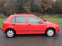SKODA FABIA 1.9 DIESEL 2002 (SAME ENGINE AS VW GOLF) MOT MAY 2018 CLEAN RELIABLE CAR