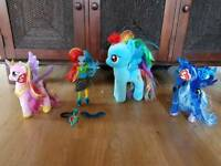 my little pony rainbow dash equestria doll brand new ty cadance luna ty princess ponies