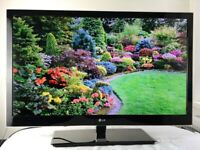 LG 32 inch slim HD LCD TV with Built in Freeview, HDMI, USB in good condition