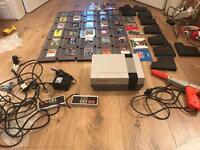 Nintendo NES Console with 32 Games
