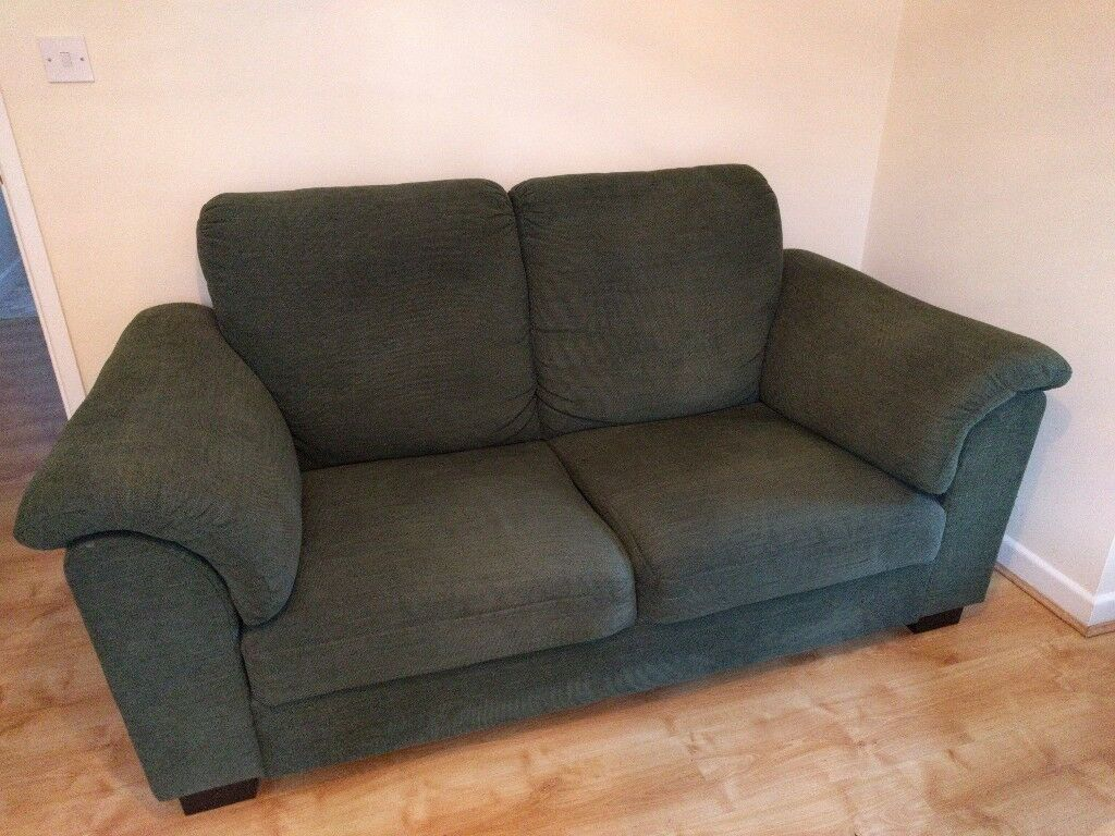 Dark Green Ikea Tidafors 2 Seater Sofa In Royston